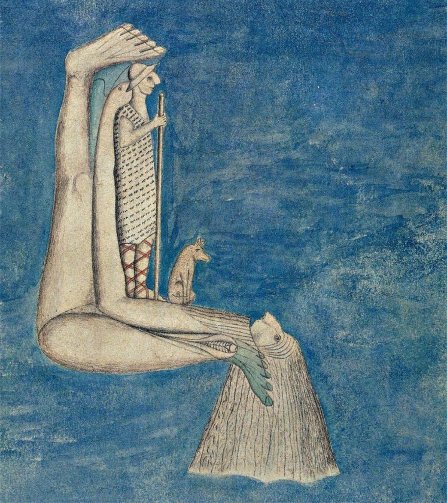 August Natterer, The Shepherd of Dreams, ca. 1919.